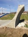 Detail of Roller Quarter- Indy Skatepark