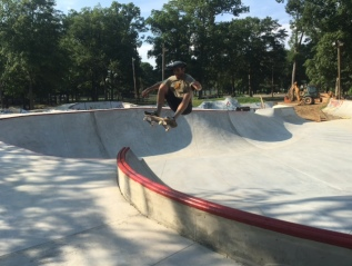 Kanis Skatepark:  Little Rock, Arkansas