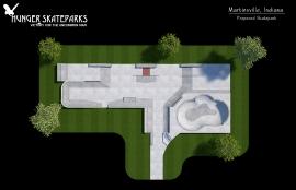 Martinsville Propsed Skatepark, Indiana