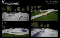 New Castle Skatepark, Indiana Build 2017