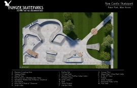 New Castle Skatepark, Indiana