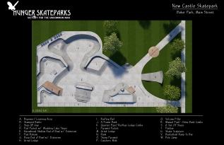 New Castle Skatepark,Indiana
