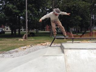 2014 Winamac, Indiana Skatepark. Sol Briggs