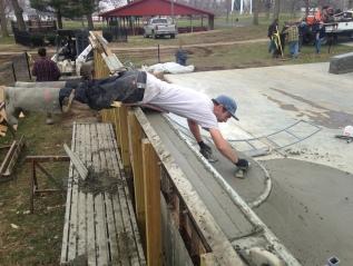 Current Build: Schurman-Grubb Memorial Park Seymour,Indiana