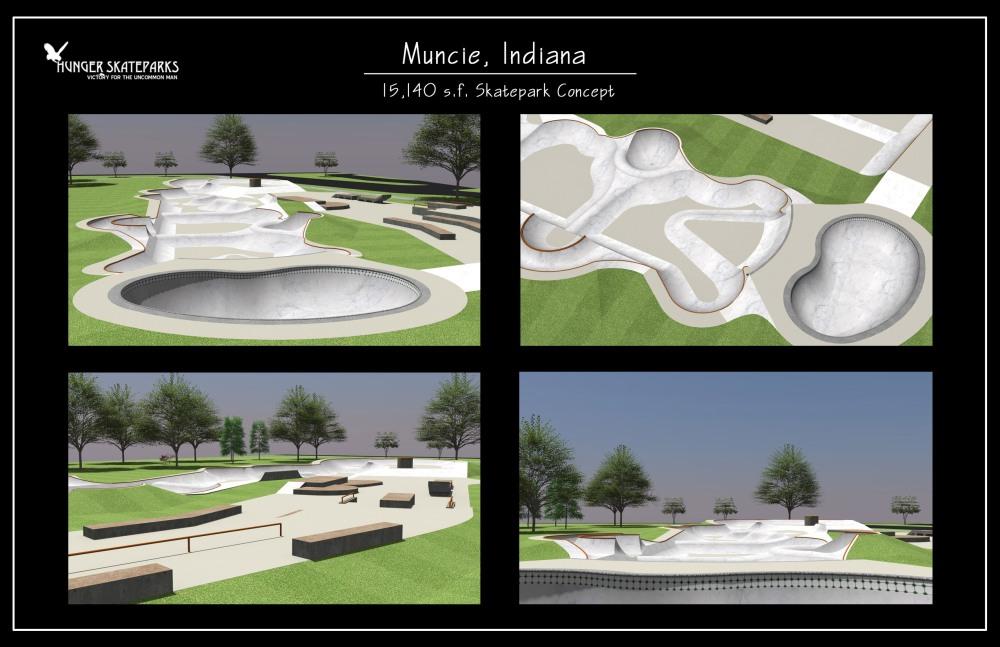 Muncie Skatepark Design
