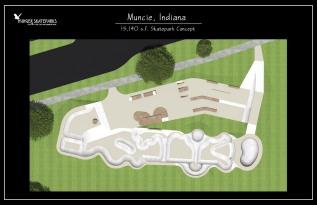Muncie, Indiana Skatepark