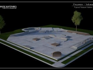 Design: Vincennes, Indiana SkateparkRehab