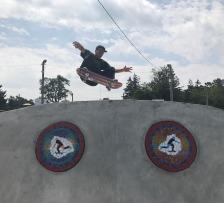 2017. New Castle, IN Skatepark