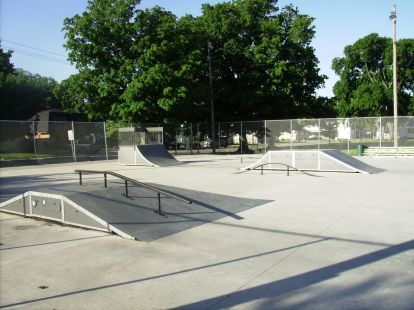 Current Pic Vinennes Skatepark