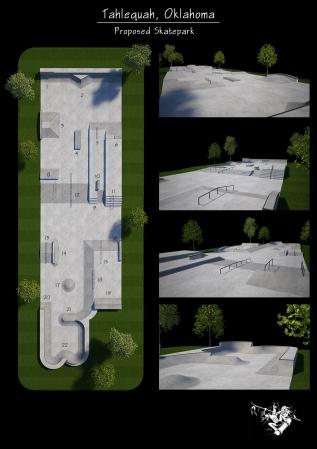 Current Build: Tahlequah, Oklahoma SkateparkRehab