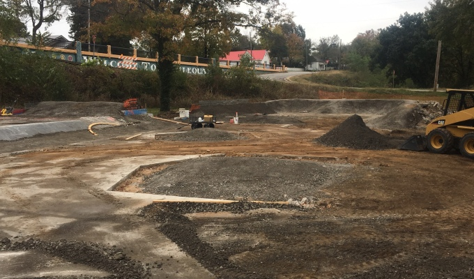 First Weeks of Park Rehab in Tahlequah