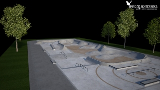 Ruston, Louisiana Skatepark