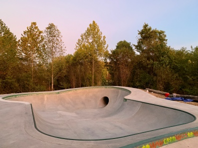 Nashville,IN Skatepark Bowl