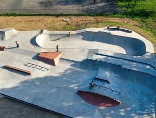 Jolie Crider Memorial Skatepark 2.0- Columbus,Indiana