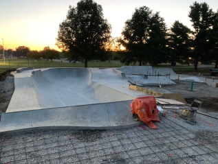 Current Build: Jolie Crider Memorial Skatepark 2.0 Columbus, Indiana
