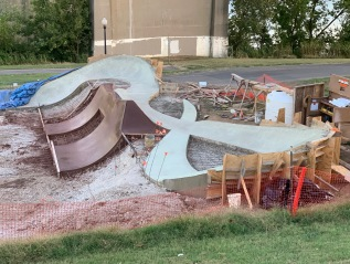 Current Build: New Albany Flow Park-                                     New Albany,Indiana