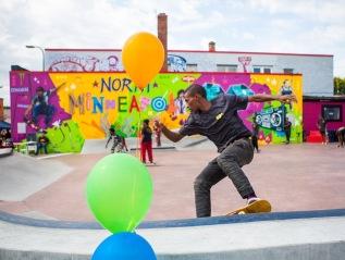 Juxtaposition Arts: Skateable Art Plaza- Minneapolis,MN