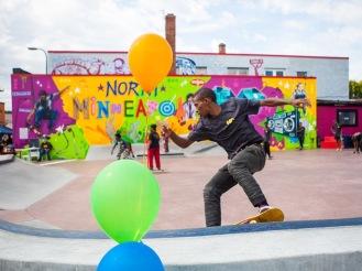 Minneapolis Juxta Arts Skate Plaza