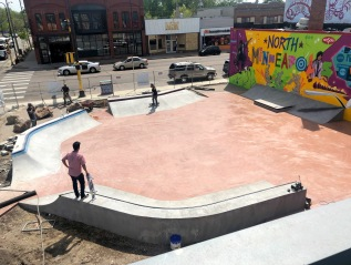 Juxtaposition Arts: Skateable Art Plaza Minneapolis, MN