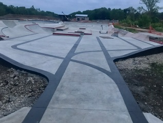Current Build: Switchyard Skatepark- Bloomington, Indiana