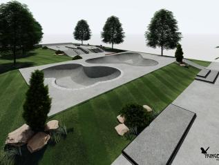 First Skatepark Build of 2020- Auburn,Indiana