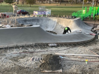 Kokomo Skatepark Bowl Pocket Waterfall