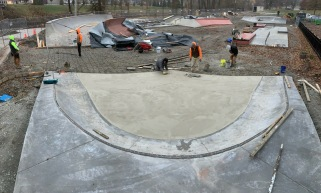 Kokomo Skatepark Corner Pocket