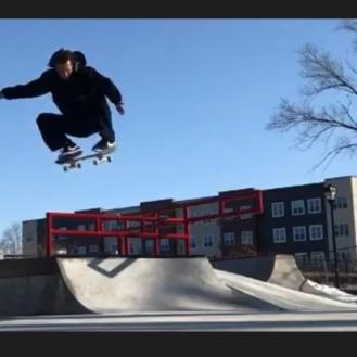 Kokomo Skatepark Rail Gap