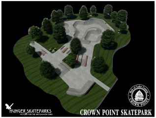 Crown Point, Indiana Skatepark