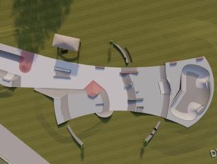 Design- Lebanon, OhioSkatepark