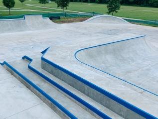 Oak Creek Skatepark Rehab-Oak Creek,Wisconsin